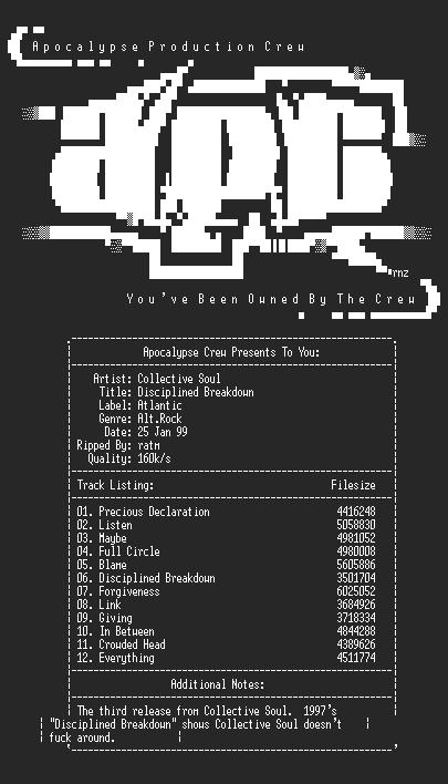 NFO file for Collective_soul-disciplined_breakdown-apc-ratm