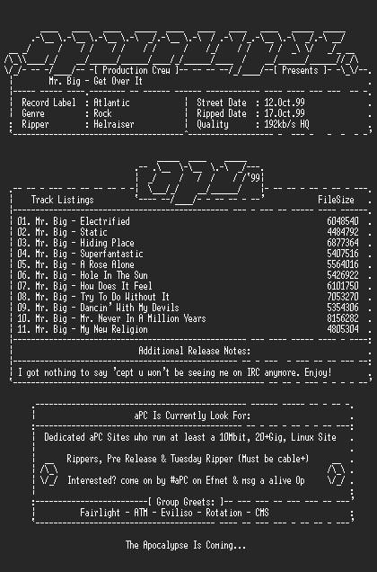 NFO file for Mr_Big-Get_Over_It-1999-aPC