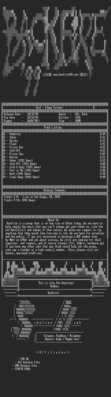 NFO file for Tool-Sleep_Forever-1993-BKF
