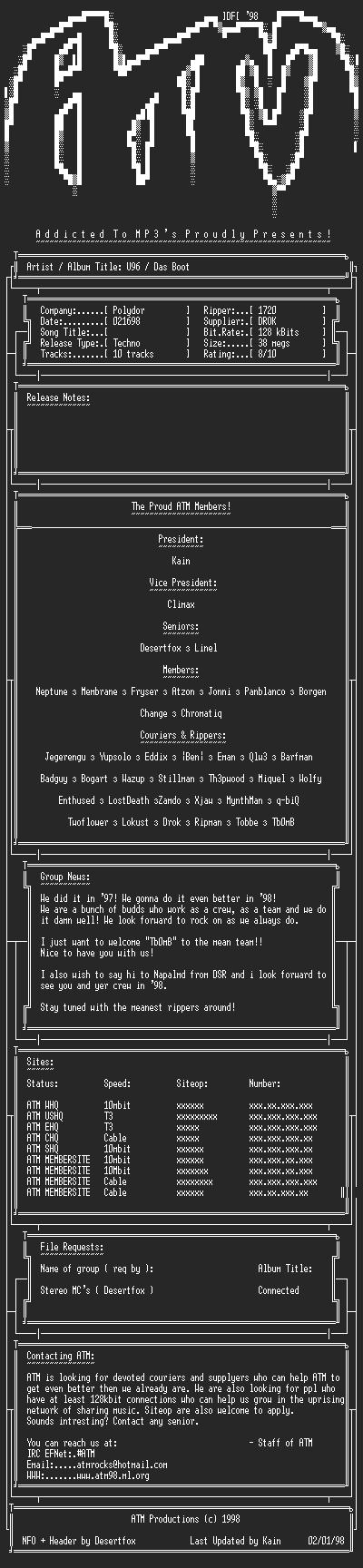 NFO file for U96-Das_Boot-ATM
