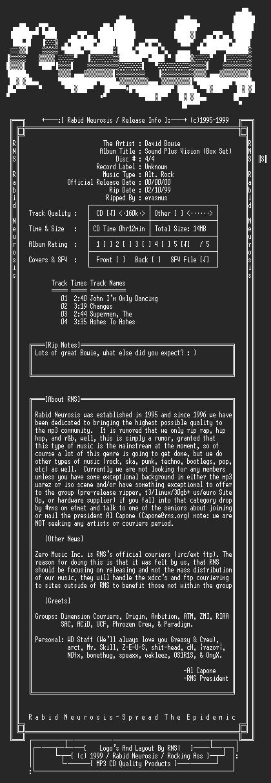 NFO file for David_Bowie-Sound_Plus_Vision_(Box_Set)-4CD-1989-RNS