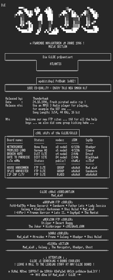 NFO file for Atlantis-GiLDE