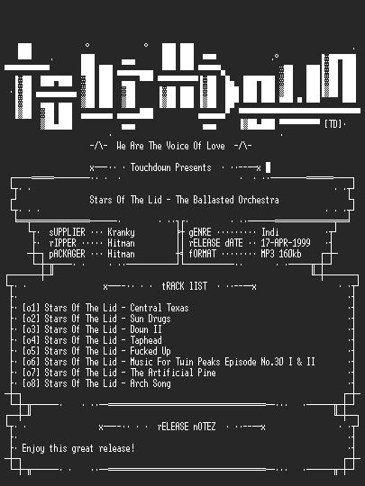 NFO file for Stars_Of_The_Lid_-_The_Ballasted_Orchestra-TD