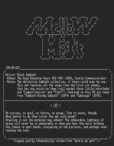 NFO file for Black_Sabbath-The_Ozzy_Osbourne_Years-MELLOW