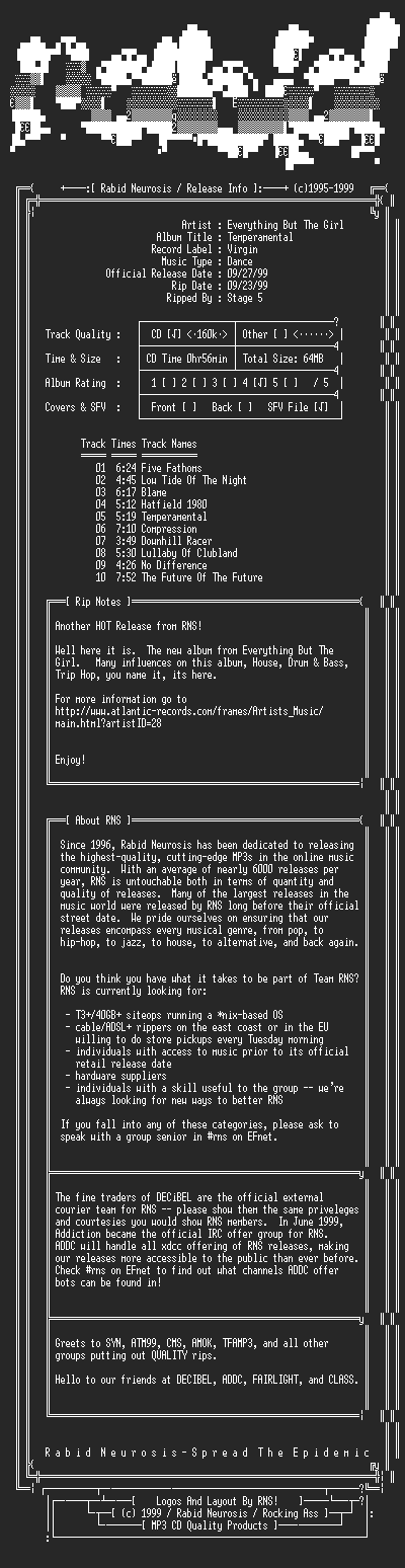 NFO file for Everything_But_The_Girl-Temperamental-1999-RNS