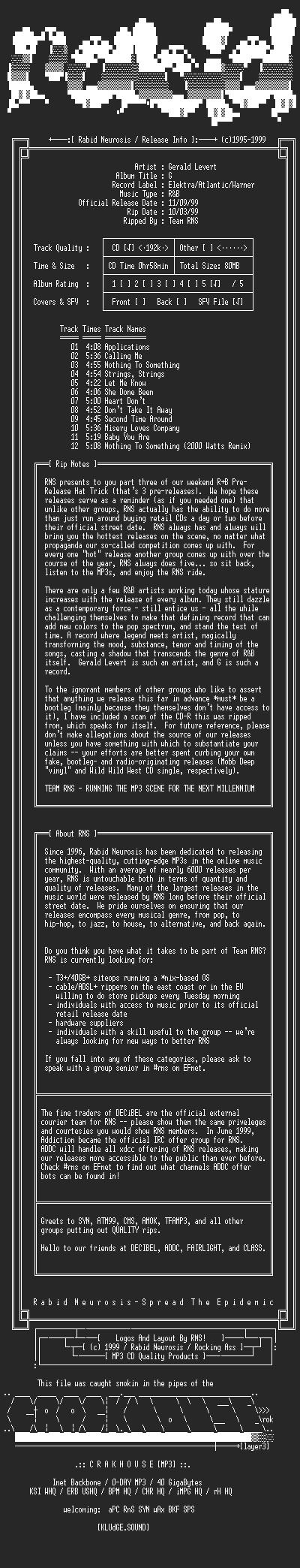 NFO file for Gerald_Levert-G-1999-RNS