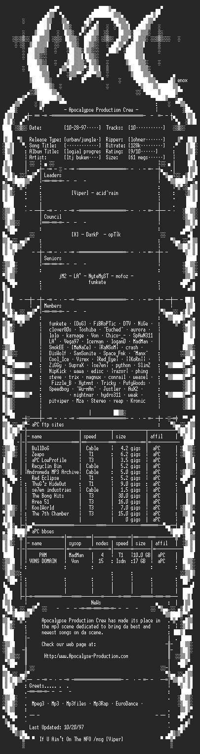 NFO file for ltj_bukem-logical_progressions-apc