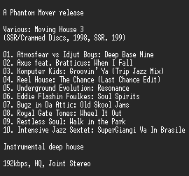 NFO file for VA-Moving_House_3-IND