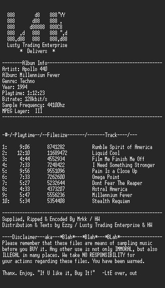 MP3 Scene — MP3 Scene Releases — Apollo_440_-_